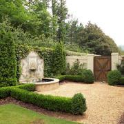 独栋别墅庭院展示