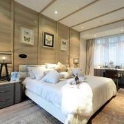 格调高贵的大户型现代家居卧室装修图片