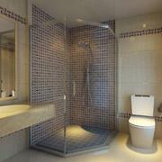 小户型76平米家居简约卫生间装修效果图