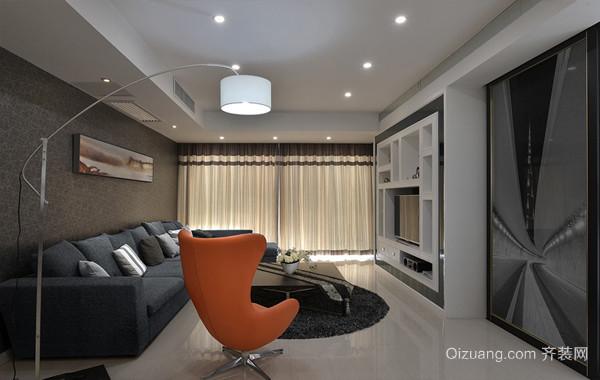 永不过时:现代风格100平米房屋装修效果图