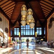 宾馆大厅个性吊灯欣赏