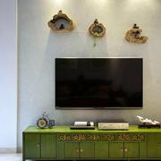 房屋古色古香电视墙设计