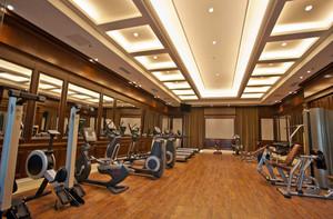 豪华酒店简欧风格健身房装修效果图