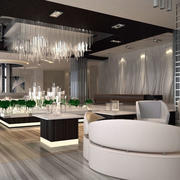 2016简约时尚的售楼部设计效果图