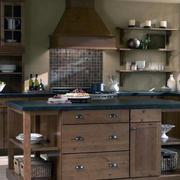 120平米大户型欧式风格厨房装修效果图