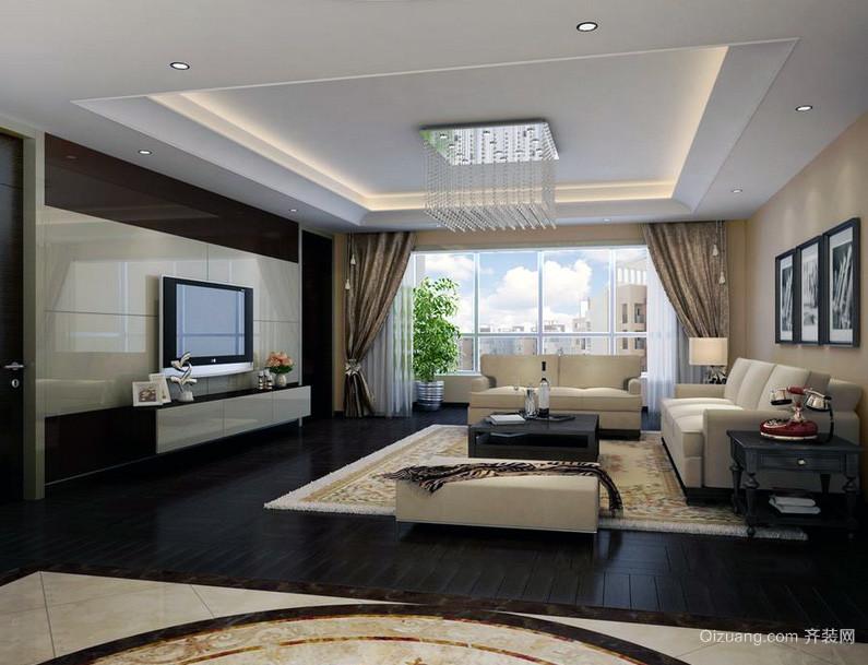 室内设计-100平米中装效果图