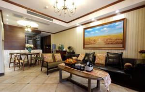 东南亚客厅简约装饰画