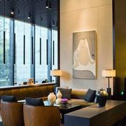宾馆大厅休息区设计
