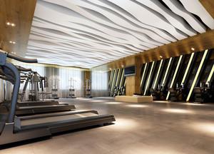 2016大户型企业简约健身房装修效果图
