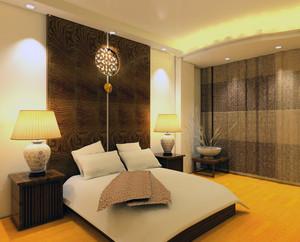 100平米大户型唯美的简约卧室室内装修效果图