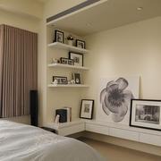 单身公寓卧室置物架欣赏