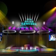 巨星演唱会的舞台