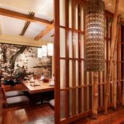 餐馆榻榻米餐桌欣赏