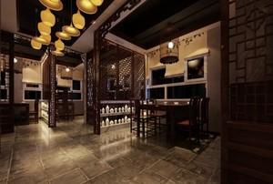 雅的新中式风格卧室吊顶造型装修效果图大全