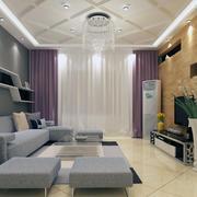 2016欧式风格经典的别墅客厅装修效果图