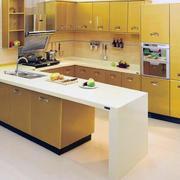 明亮的厨房设计图
