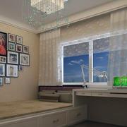 现代日式风格室内榻榻米装修效果图实例