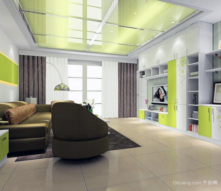2016欧式风格客厅交换空间装修效果图鉴赏