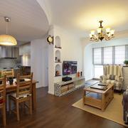 单身公寓生态木地板