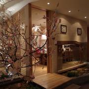 浪漫的樱花餐馆