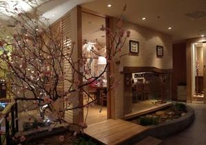 雅致温馨日式小餐馆装修设计效果图