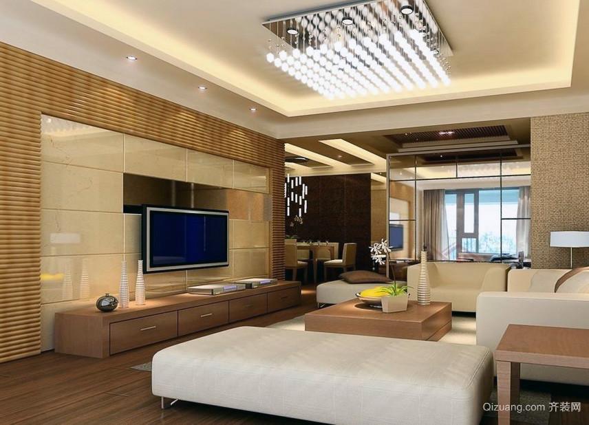2016三居室欧式风格餐厅吊顶装修效果图实例