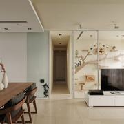 单身公寓小过道展示