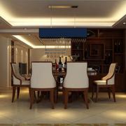 温馨餐厅酒柜图片