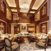 美式格调客厅设计