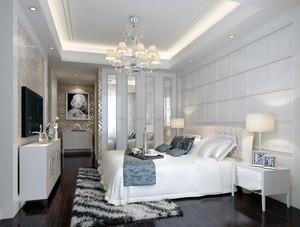2016大户型欧式卧室室内装潢设计装修效果图