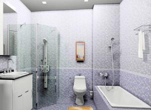 6平米小浴室简约风格装修效果图