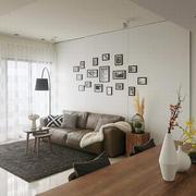 单身公寓客厅装饰展示