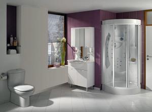 宜家风格小浴室简约装修效果图
