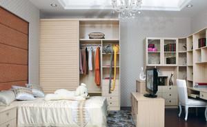 经典的大户型欧式卧室衣柜装修效果图欣赏