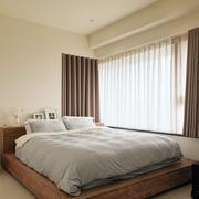 单身公寓舒适卧室欣赏