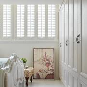 地中海白色卧室窗户展示