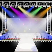 现代化的舞台装饰