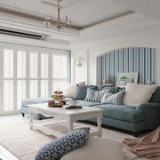 优雅风范的地中海客厅