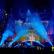 迷人的舞台灯光