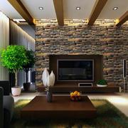 优雅的电视背景墙