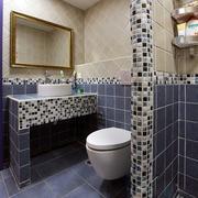 单身公寓地中海风格卫生间