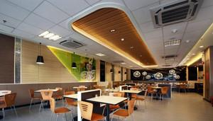 大户型快餐店现代风格设计装修效果图