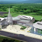 运动风:现代大型体育馆设计效果图