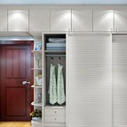 得体:现代两室一厅卧室组合大衣柜效果图