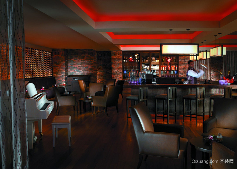 魅力音乐:现代特色小酒吧装修效果图