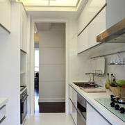 单身公寓小厨房展示
