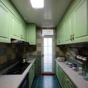清新地中海风格小厨房