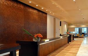 大型酒店服务台展示