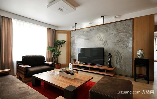 82平米小户型乡村自然风格家装设计图片