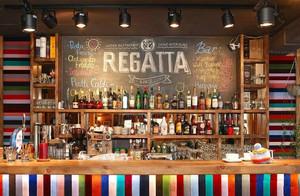 校园风:特色小酒吧吧台装修效果图